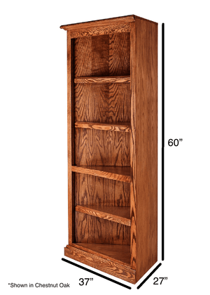 Oakland Corner Bookcase - Home Furniture Factory