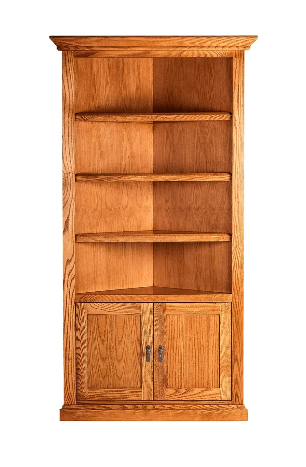 Henderson Corner Bookcase - Home Furniture Factory