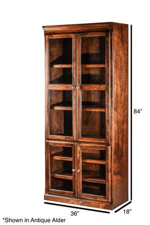 Lawrence Bookcase - Home Furniture Factory