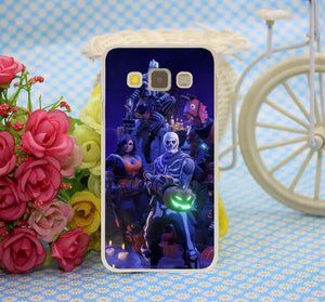Fortnite 5 Case For Samsung Galaxy A8(Plus) A7 A5 A3 2018 2017 2016 2015 & Grand Prime Note 5 4 3