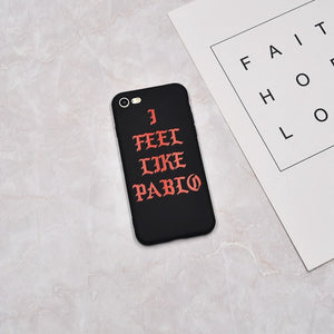 I Feel Like Pablo iPhone Case