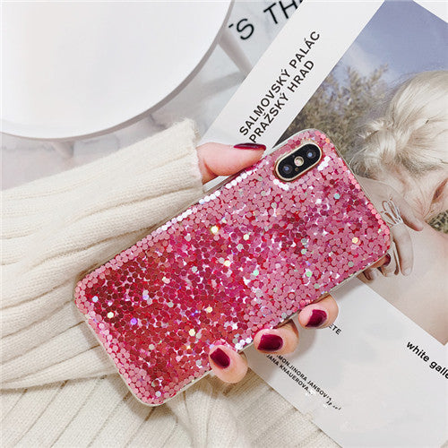Pink Sequins iPhone Case