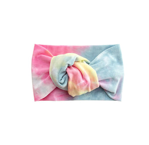 COTTON CANDY TIE-DYE twist knot