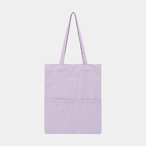 Two-pocket Shoulder Bag Message (Lilac)