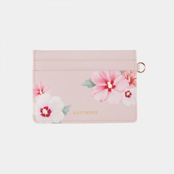 Simple Card Wallet Mugunghwa (Pink)