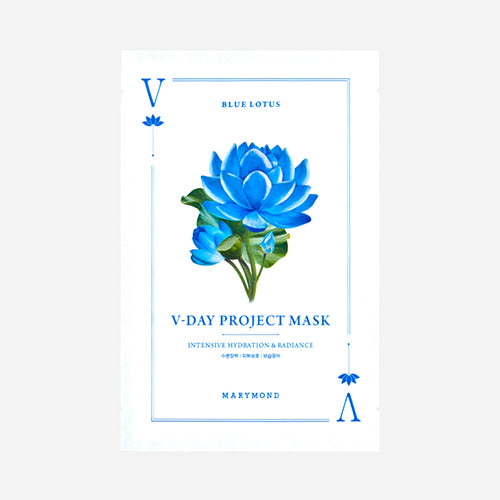 V-Day Project Facial Mask Sheet_Intensive Hydration & Radiance(1ea)