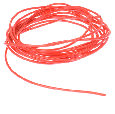 Apex RC Products 3m / 10' Red 22 Gauge AWG Super Flexible Silicone Wire #1190