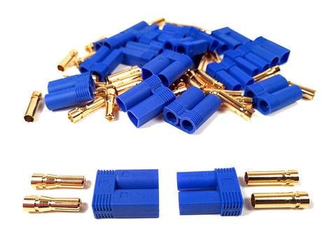 Apex RC Products Male/Female EC5 Battery Connector Plugs - 10 Pair #1535