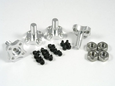 Small Parts CNC Blade Traxxas Aton 6mm Aluminum Prop Adapter Set