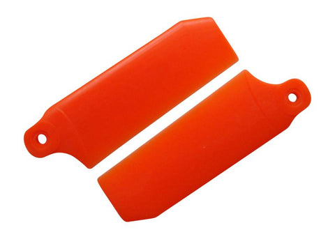 KBDD Neon Orange 45mm Extreme Tail Rotor Blades #4046