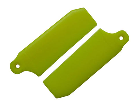 KBDD Neon Yellow 45mm Extreme Tail Rotor Blades #4047