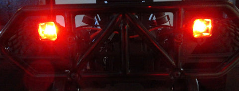 Apex RC Products Red LED Kit - For RPM Traxxas Slash 2WD / 4X4 Rear Bumper #9033