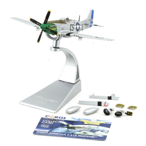 "Corgi P-51D Mustang - ""Daddy's Girl"" 1:72 Die-Cast Airplane AA27704"