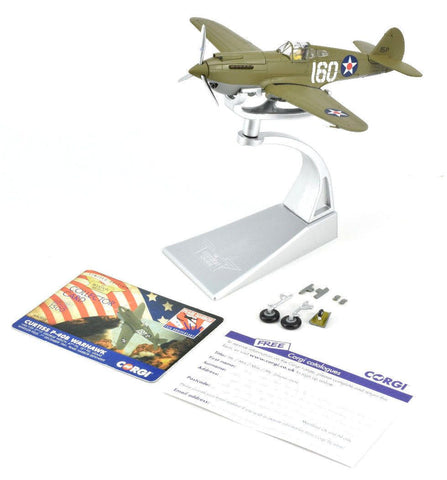 Corgi Curtiss P-40B Warhawk - Pearl Harbor 1:72 Die-Cast Airplane AA28101