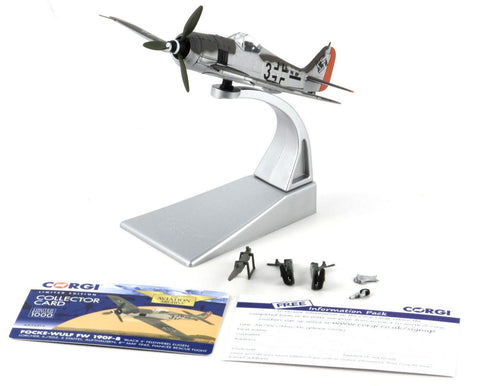 Corgi Focke-Wulf Fw 190F-8 -Fiancee Rescue Flight 1:72 Die-Cast Airplane AA34316