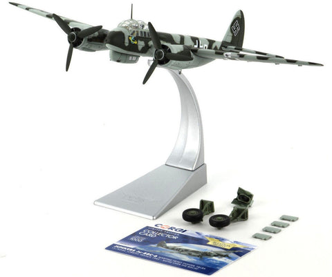 Corgi Junkers JU-88C-6 - Battle Over The Biscay 1:72 Die-Cast Airplane AA36711