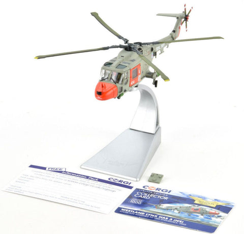 Corgi Westland Lynx HAS 3 (ICE) - 2002 1:72 Die-Cast Helicopter AA39007