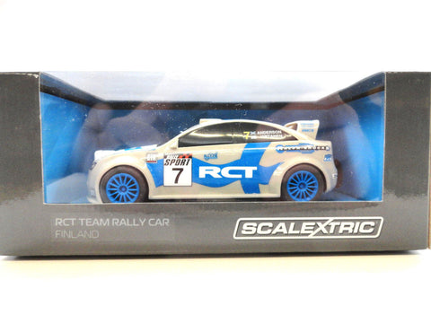 "Scalextric ""RCT"" Finland Rally Car 1/32 Scale Slot Car C3712"