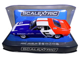 "Scalextric ""Sunoco"" AMC Javelin PCR DPR W/ Tail Lights 1/32 Scale Slot Car C3731"