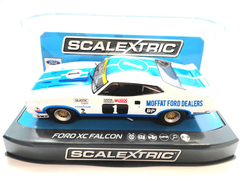 "Scalextric ""Moffat"" Ford XC Falcon DPR W/ Tail Lights 1/32 Scale Slot Car C3741"