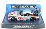 "Scalextric ""Goodsmile"" Mercedes AMG GT3 DPR W/ Lights 1/32 Scale Slot Car C3852"