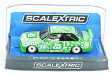 "Scalextric ""Tic Tac"" BMW E30 M3 DPR W/ Lights 1/32 Scale Slot Car C3865"
