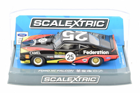 "Scalextric ""Federation"" Ford XC Falcon DPR W/ Tail Lights 1/32 Scale Slot Car C3869"