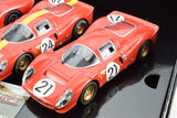 Scalextric 1967 Le Mans Ford GT40 MkIV & Ferrari 330 P4's 1/32 Slot Cars C3892A