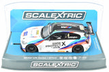"Scalextric ""Protect X"" BMW 125 1 Series BTCC DPR W/ Lights 1/32 Slot Car C3920"