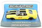 "Scalextric ""AMD"" AMC Javelin Trans Am DPR W/ Tail Lights 1/32 Slot Car C3921"