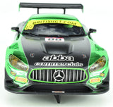 "Scalextric ""Abba"" Mercedes AMG GT3 DPR W/ Lights 1/32 Scale Slot Car C3942"