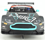 "Scalextric ""Hud"" Aston Martin Vantage GT3 DPR W/ Lights 1/32 Slot Car C3945"