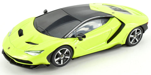 Scalextric Lime Green Lamborghini Centenario DPR 1/32 Scale Slot Car C3957