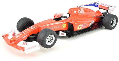 "Scalextric ""Bills Bank"" Team F1 DPR 1/32 Scale Formula 1 F1 Slot Car C3958"