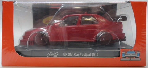 Slot It Alfa Romeo 155 V6TI - UK Slot Car Festival 1/32 Scale Slot Car CA-SC35A
