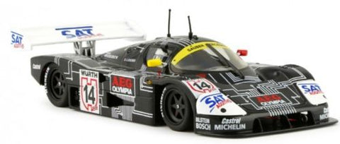 "Slot It ""AEG"" Sauber Mercedes C9 - 1988 ADAC Supercup 1/32 Scale Slot Car CA06G"
