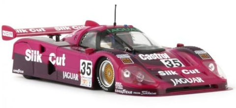 "Slot It ""Silk Cut"" Jaguar XJR12 - 1991 Le Mans 1/32 Scale Slot Car CA13C"