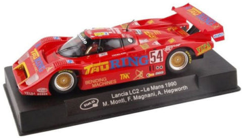 "Slot It ""Tau Ring"" Lancia LC2 - 1990 Le Mans 1/32 Scale Slot Car CA21F"