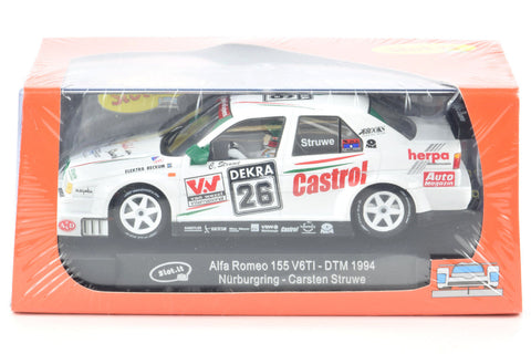 "Slot It ""Castrol"" Alfa Romeo 155 V6TI - 1994 DTM 1/32 Scale Slot Car CA35D"