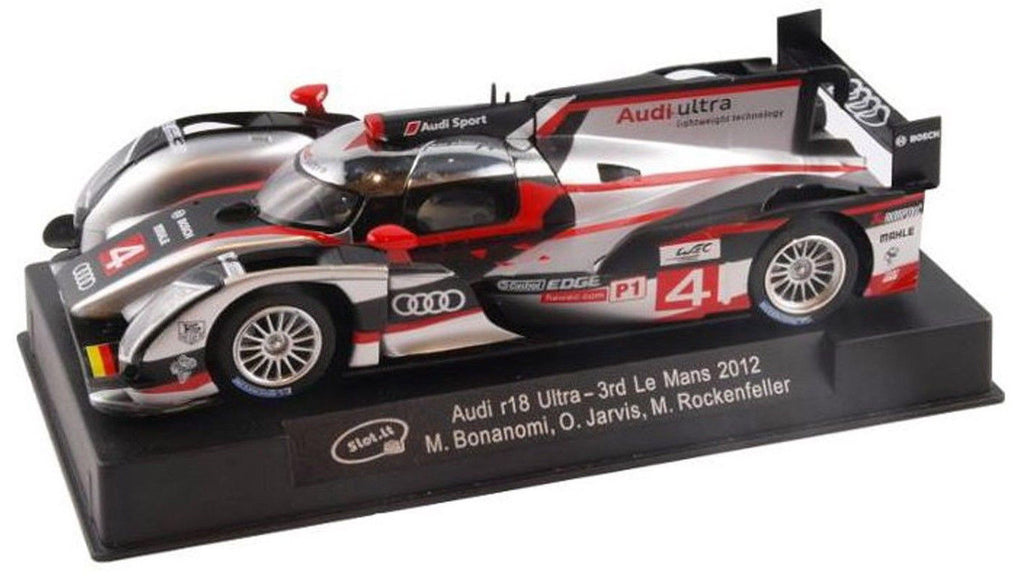slot it audi r18 ultra 3rd 2012 le mans 1 32 scale slot. Black Bedroom Furniture Sets. Home Design Ideas