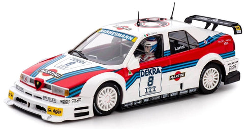 "Slot It ""Martini"" Alfa Romeo 155 V6TI - 1996 DTM/ITC 1/32 Scale Slot Car CA40A"