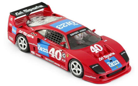 Slot It Policar Ferrari F40 - 1990 IMSA Road America 1/32 Scale Slot Car CAR03A