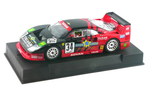 Slot It Policar Ferrari F40 - 1994 Mine GT JGTC 1/32 Scale Slot Car CAR03B
