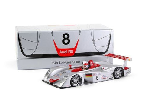 Slot It Audi R8 LMP - 2000 24h Le Mans Winner 1/32 Scale Slot Car CW19