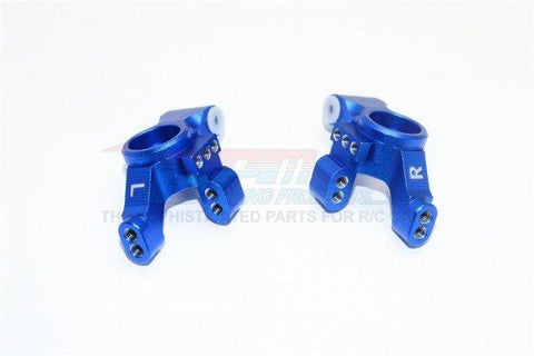 GPM Racing Traxxas 4-Tec 2.0 Blue Aluminum Rear Knuckle Arm Set GT022-B