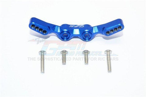 GPM Racing Traxxas 4-Tec 2.0 Blue Aluminum Front Shock Tower GT028-B