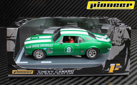 Pioneer 1967 Chevrolet Camaro Z-28 #8 Clubsport DPR 1/32 Scale Slot Car P047