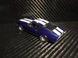 Pioneer Blue / White 1968 Ford Mustang Fastback DPR 1/32 Scale Slot Car P055