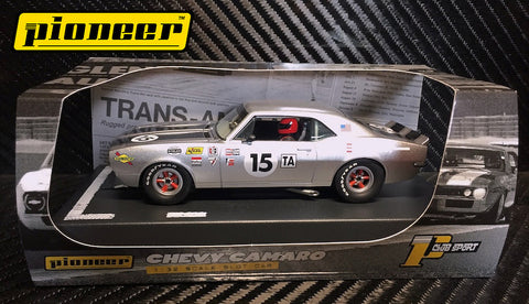 Pioneer 1968 Chevrolet Camaro T/A #15 12hr Enduro DPR 1/32 Scale Slot Car P060