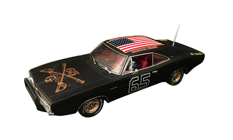 "Pioneer ""The General Grant"" Black 1969 Dodge Charger DPR 1/32 Slot Car P095"